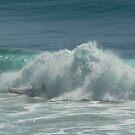 Surfing Burleigh Heads #2 by Virginia McGowan