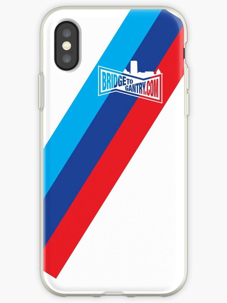 brand new 721bd 7150a 'BTG Motorsport' iPhone Case by BridgeToGantry