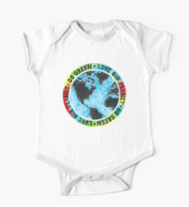 Love Our Planet Go Green One Piece - Short Sleeve