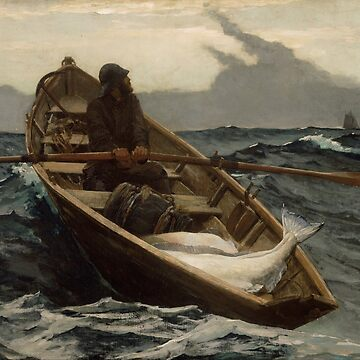 The Fog Warning / Halibut Fishing by Winslow Homer by BravuraMedia