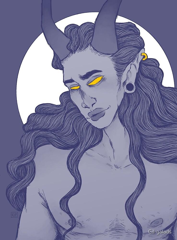 purple demon by Gil-galads