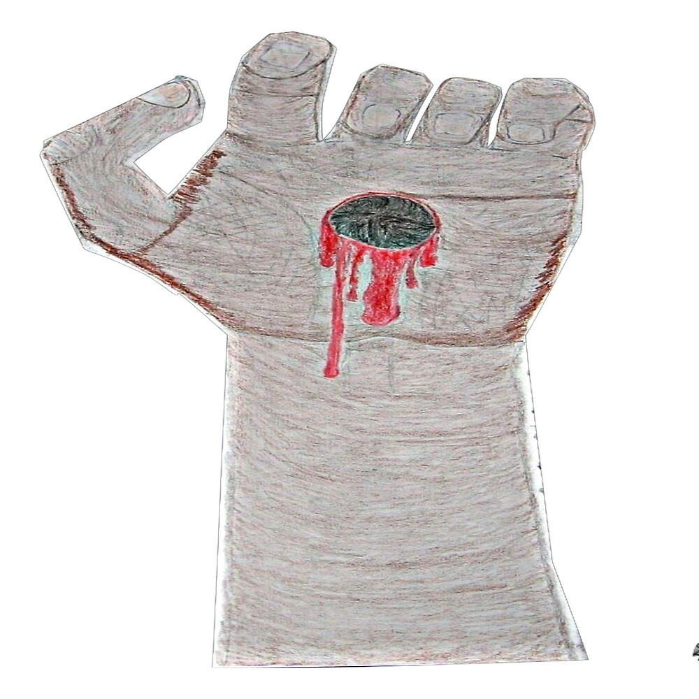 """The Nailed Hand"" by XzanderSnow"