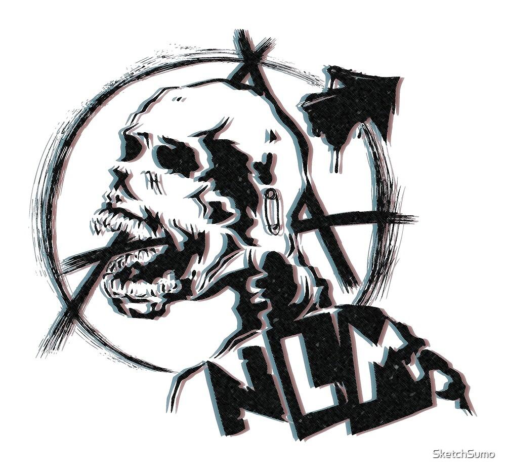 3D Skull - NLM by SketchSumo