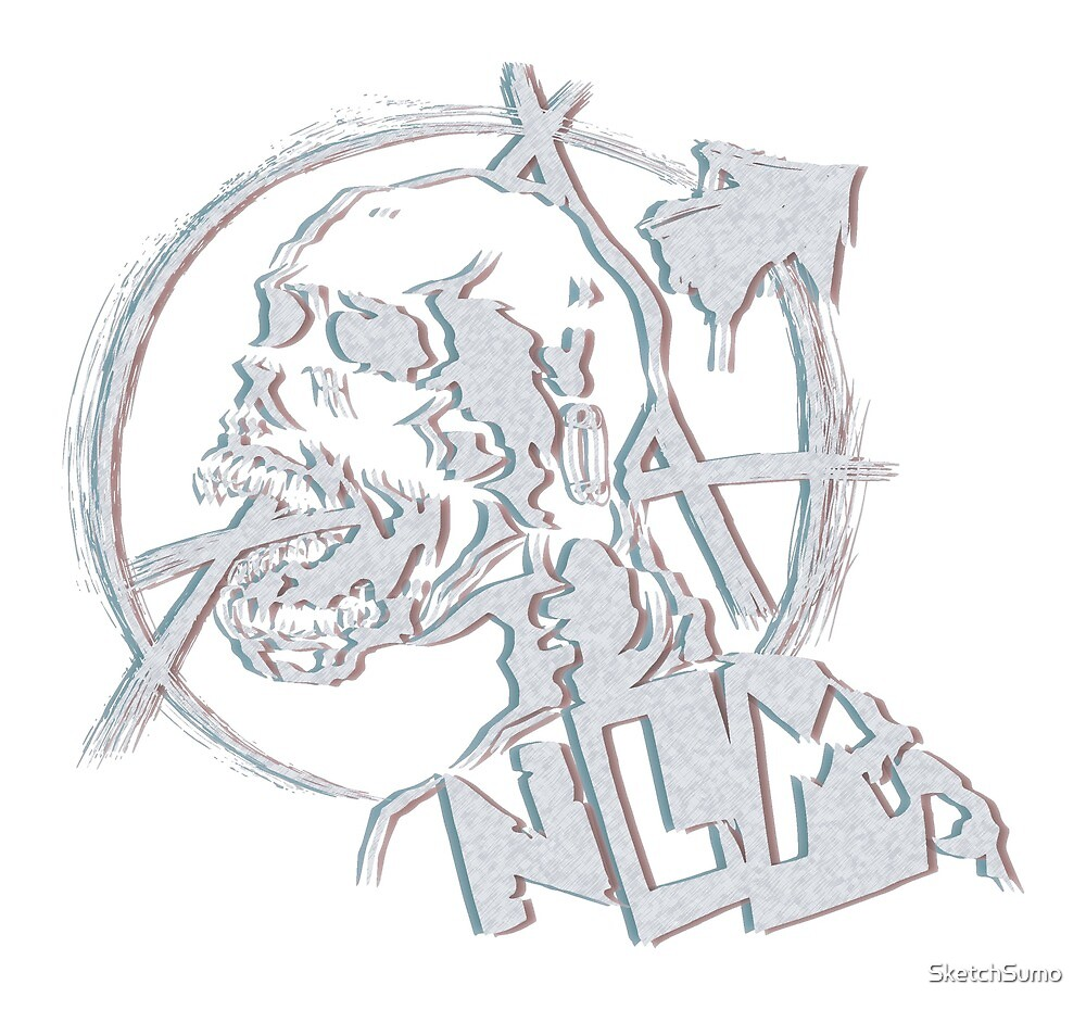 3D Skull ( Inverted ) - NLM by SketchSumo