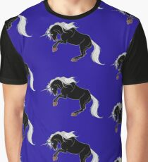 Dark Unicorn Graphic T-Shirt