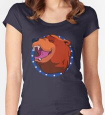 Bear for Hire Women's Fitted Scoop T-Shirt