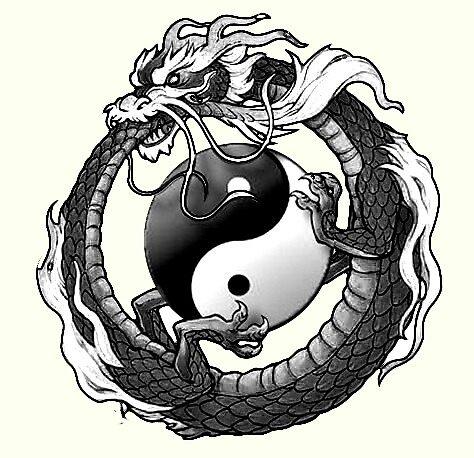Dragon Ying Yang by sabalisigns