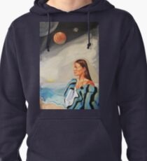 I Made the Break (Self Portrait) Pullover Hoodie