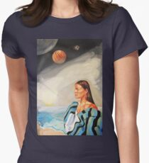 I Made the Break (Self Portrait) Women's Fitted T-Shirt
