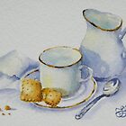 Tea With Pop by Fiona  Lee
