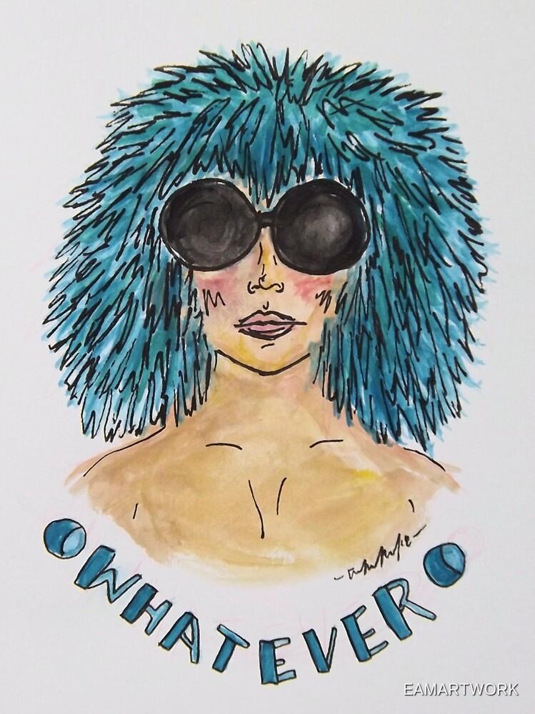Whatever Girl by EAMARTWORK
