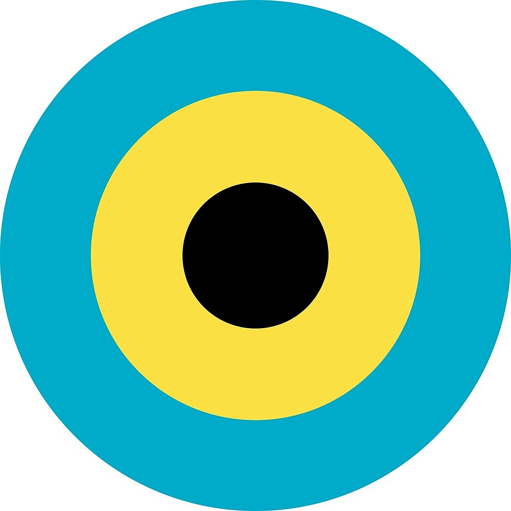Roundel of Royal Bahamas Defence Force Air Wing by ofmany