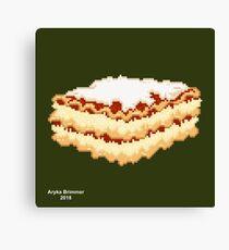 Lasagna Canvas Print