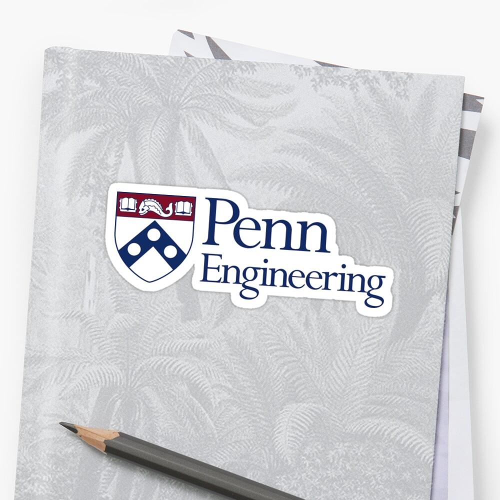 Penn Engineering Sticker (UPenn) by kaylee-grace