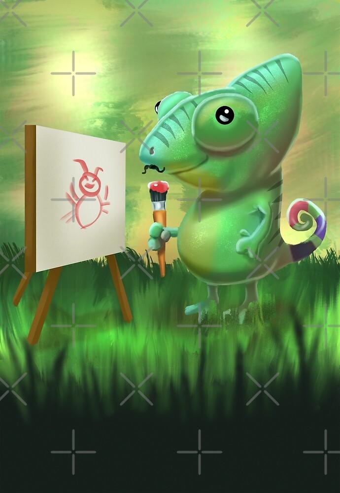 The Chameleon by GustavArt93