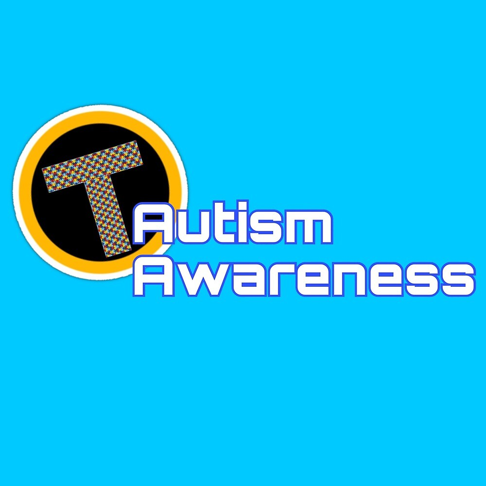 Teen Titans Autism Awareness Logo by jhwlgh
