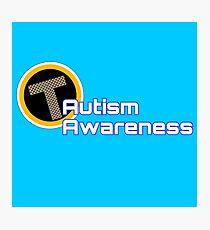 Teen Titans Autism Awareness Logo Photographic Print