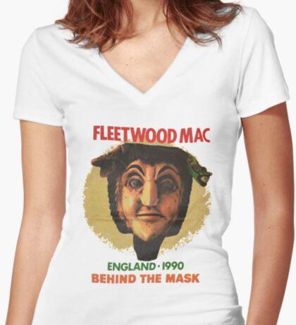 fm90(3) Fitted V-Neck T-Shirt