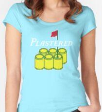 Camiseta entallada de cuello ancho Enyesado 2