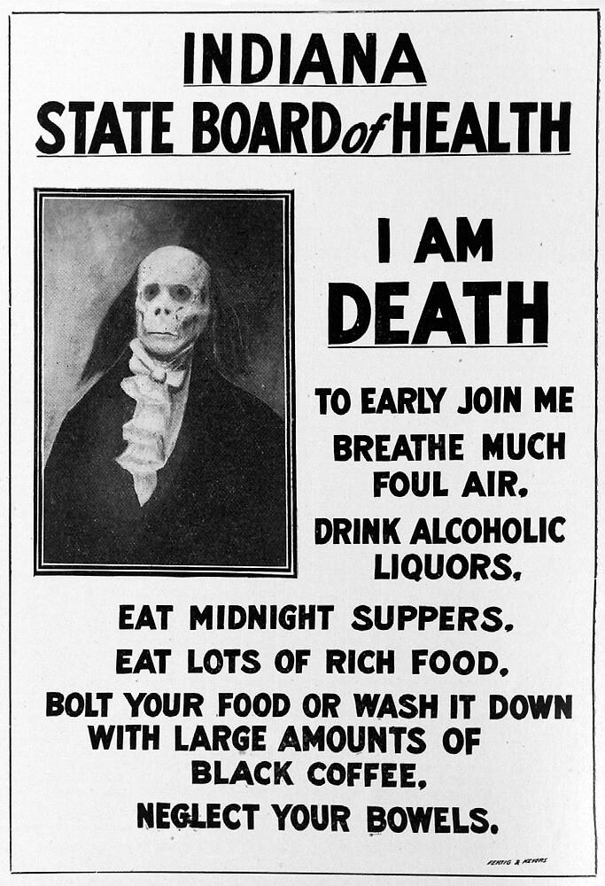 I AM DEATH    by slagseed