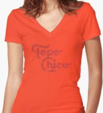 Topo Chico Women's Fitted V-Neck T-Shirt