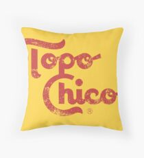 Topo Chico Throw Pillow
