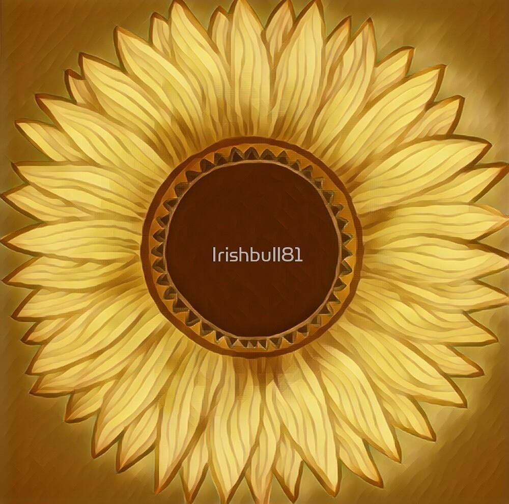 Sunflowers light brown by Irishbull81