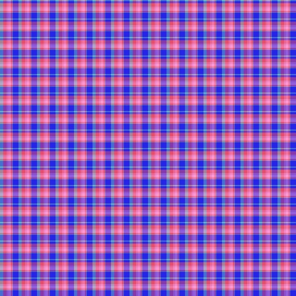 Pink Blue Scottish Tartan by Alexander Nedviga