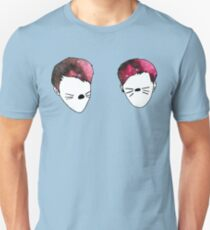 Dan and Phil galaxy whiskers Unisex T-Shirt