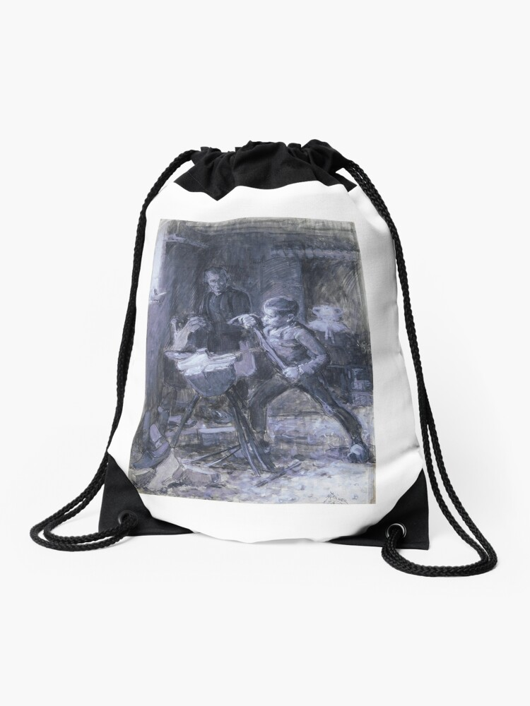 Study-for-the-Young-Sabot-Maker | Drawstring Bag