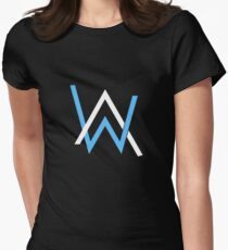 Alan Walker Lightweight Merchandise Women's Fitted T-Shirt