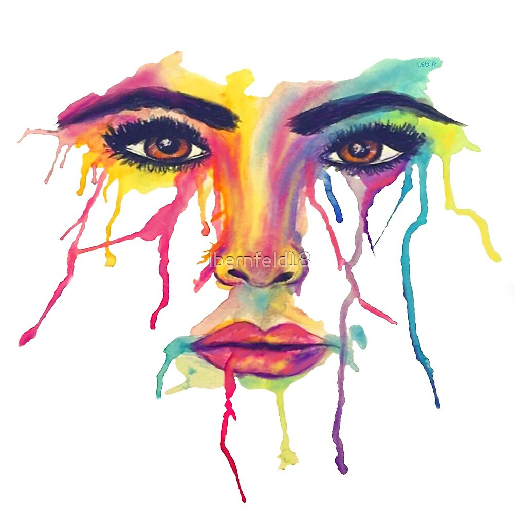 Colorful Tears by lbernfeld18