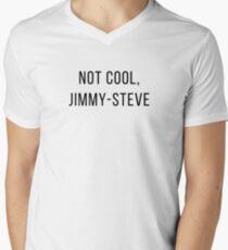 not cool, j.s. - shameless Men's V-Neck T-Shirt