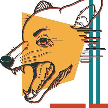 coyote by Sockcorgi