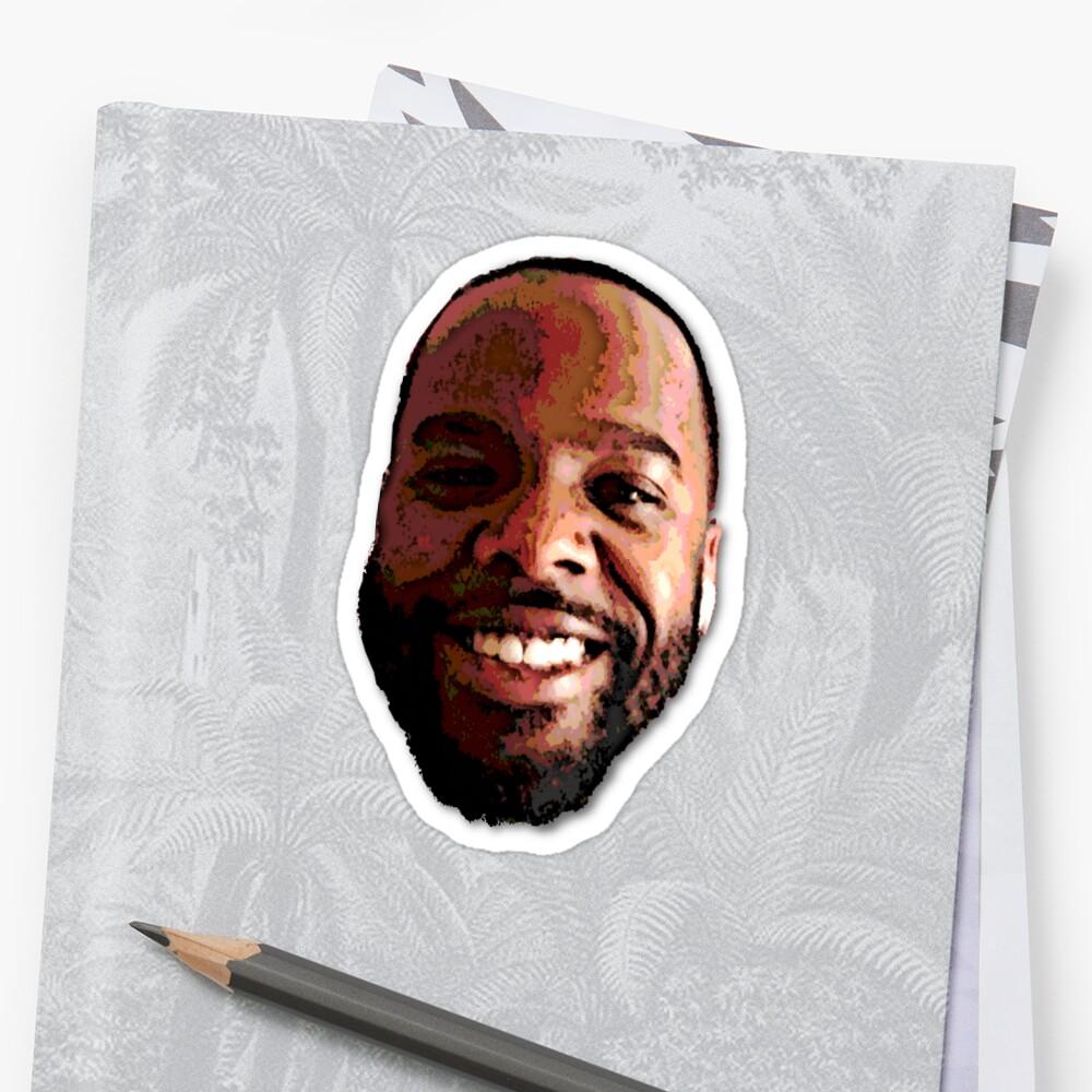 happy black man by mwarre25
