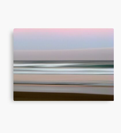 Beach Impressions #1 Canvas Print