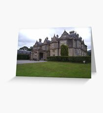 Muckross House Killarney Co Kerry Greeting Card