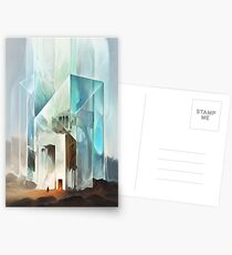 The Crystal-Flesh Hermitage Postcards