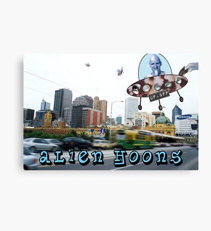 Alien Hoons Canvas Print