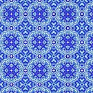 Blue blessings Pattern by Jen Toal
