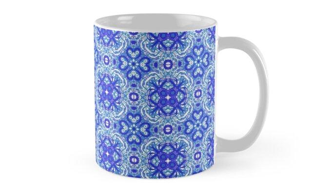 Blue blessings Pattern by Jen Toal
