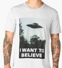 I Want to Believe Men's Premium T-Shirt