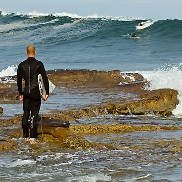 Dee Why Surfer - The Wait by scatrdjason
