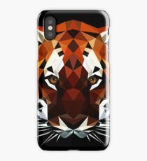 Geometric Tiger iPhone Case