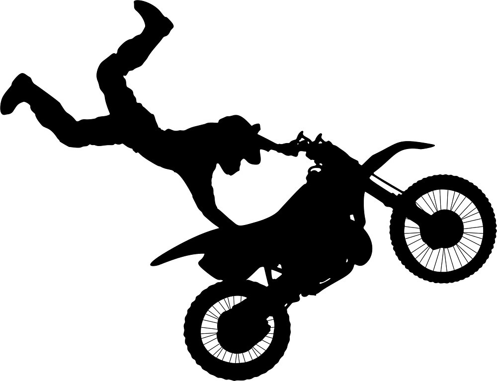 Motocross Stunt by Reethes