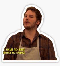 andy dwyer Sticker
