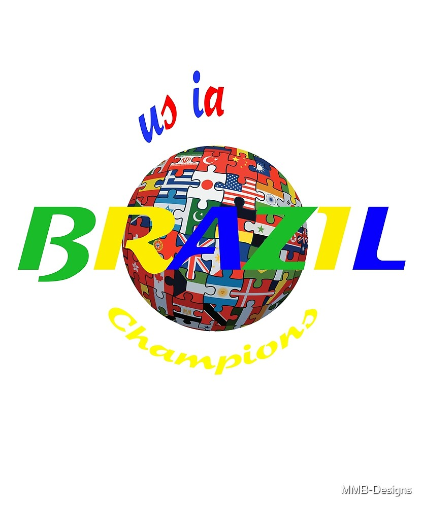 World Cup Soccer 2018 Brazil by MMB-Designs