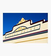Newcastle Baths Art Deco Facade Photographic Print