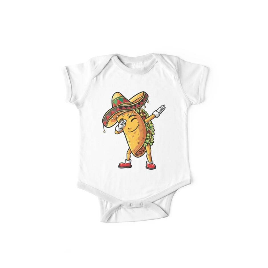2400bc7a Dabbing Taco T Shirt Cinco de Mayo Kids Boys Men Women Girls