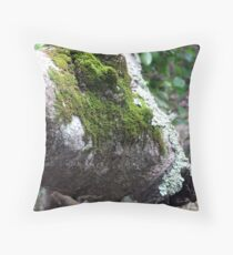 Mossy Tree Throw Pillow